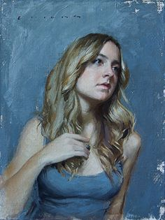 Longing by Casey Childs was selected as a Finalist in the March 2013 BoldBrush Painting Competition.