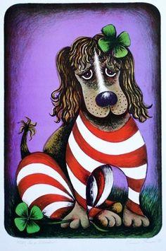 Pes po Silvestru Dogs Of The World, Grinch, Artist, Handmade, Czech Republic, Hand Made, Artists, Bohemia, Handarbeit
