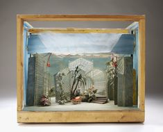 [Ring Round the Moon, set in a winter garden] Set model | Messel, Oliver Hilary Sambourne | V&A Search the Collections