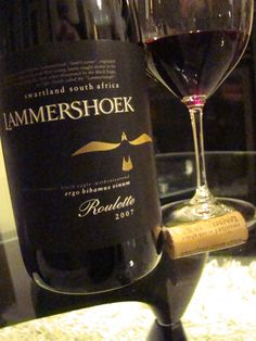 Lammershoek Roulette 2007, Swartland, South Africa Farms, Wines, Red Wine, South Africa, Alcoholic Drinks, Bottle, Glass, House, Haciendas