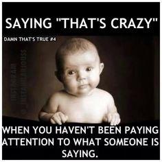 That's crazy
