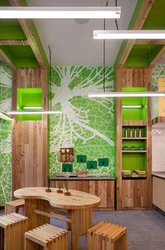 sweetgreen eco-eateriy by Core Architecture, Bethesda – Maryland
