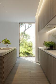 56 Super Ideas Creative Home Lighting Kitchens Kitchen Interior, Modern Interior, Interior Plants, Interior Architecture, Küchen Design, Design Ideas, Modern Kitchen Design, Cheap Home Decor, Home Remodeling