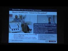 Future Internet Assembley (FIA) speech by Bosch evangelist Stefan Ferber on the next internet wave, the internet of things and services (IoT) Pump, Health Care, Wave, Internet, Future, Digital, Future Tense, Pump Shoes, Waves