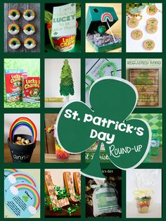 St Patrick's Day Round-up | Decor, Gift ideas, Printables, Dinner ideas, Leprechaun Traps... this post has it all!