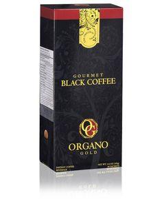 Organo Gold GOURMET BLACK COFFEE With 100% Certified Ganoderma Lucidum  #OrganoGold