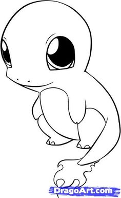 Charmander Pokemon Coloring Page Birthday Ideas Pinterest