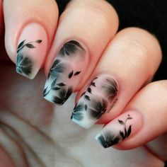 39 Elegant Looks for Matte Nails Every Girl Will Want to Copy ★ Matte Floral Designs picture1 ★ See more: http://glaminati.com/best-matte-nails/