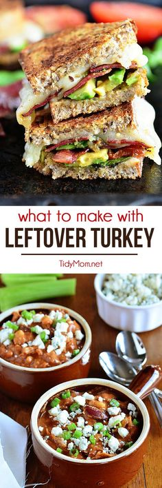 Got Turkey?  Here are 5 great recipe ideas to make with left over turkey!