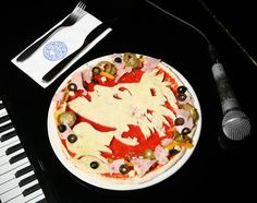 Madonna pizza | Rihanna, Madonna And More Get Their Face In Pizza! - Celebrity Gossip, News & Photos, Movie Reviews, Competitions - Entertainmentwise