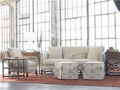 """Shop for Vanguard Living Room Sets, VGF_RS_108, and other Living Room Sets at Vanguard Furniture in Conover, NC. P439E - Drink table shown in Timeworn FinishP467L-AN - Lamp Table shown with Antiquarian Finish.P467L-EP - Lamp table shown in Epoch finish with a Discontinued PillowsV368-CH - Liz Chair shown in Toro Taupe body with #9 Black Nickels Nails and Hapsack finish on feet.V411-S - Phillipe Sofa shown in Ramsey Khaki body with 2 25"""" Ramsey Khaki throw pillows and a Kidney pillow in ..."""