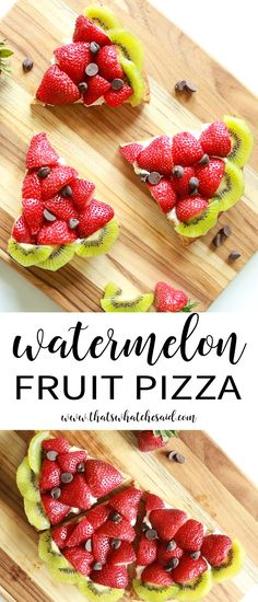 Make a fruit pizza t