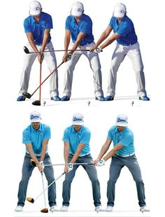 BEFORE: TOO MUCH BODY TURN TOO EARLY Rickie used to drag the handle back and turn his hips and shoulders very early in the swing. The clubhead would lag behind the rotation of his body. Also, his ball position would tend to creep too far back, which contributed to that early turn—he was trying to load up behind the ball. —Butch Harmon AFTER: EARLIER WRIST SET, CLUB STRAIGHT BACK We've worked to sync up his takeaway, hinging the wrists sooner and not being as quick with the body. You might…