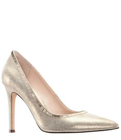 3a60217ff795e Shop for Nina Deedra Metallic Suede Dress Pumps at Dillards.com. Visit  Dillards.com to find clothing