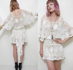Oh god this dress is so amazing. Why don't I know how to crochet!?