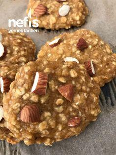 3 malzemeli diyet kurabiye videolu nefis yemek tarifleri 120 cheap and healthy snack recipes Healthy Breakfast Recipes, Healthy Recipes, Dessert Healthy, Kids Meals, Easy Meals, Fun Easy Recipes, Yummy Recipes, Tasty, Yummy Food