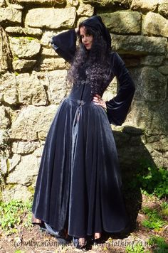 Lunaria Coat by Moonmaiden Gothic Clothing UK
