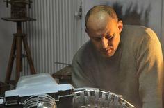 """Proceso de trabajo en la escultura """" Las cuatro nobles verdades"""" David Gericke artista multimedial"""