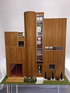 Modern Dollhouse The Citadel Pre-Built and Electrified 1:12 #Lollys #Modern