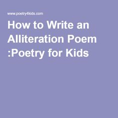 What is a good poem to write a research paper about?