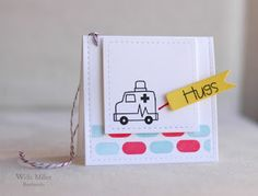 Card by SPARKS DT Wida Miller PS stamp set: First Aid Kit