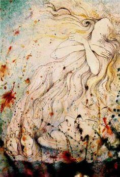 Salvador Dali - The Death of Ophelia