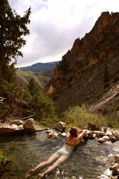 montagne point d'eau baignade oui c'est superbe de se detendre
