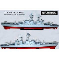 USS Truxtun CGN35 1985 1/350 Scale Resin Model Ship Kit Model Ship Kits, Model Ships, Get One, Scale Models, Resin, Building, Concept Ships, Buildings, Scale Model