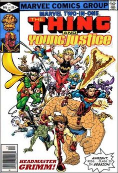 Super-Team Family: The Lost Issues!: The Thing and Young Justice
