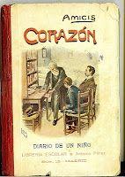 Corazón. Diario de un niño. Libro de urbanidad. Librería Escolar