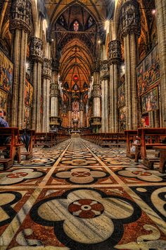 Duomo di Milano ~ Lombardy, Italy - Milano is the city of this year #EXPO from May 1st . #EXPO2015