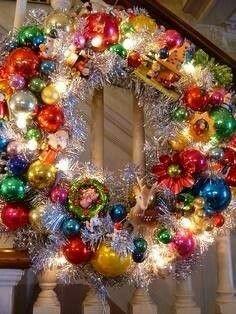 .Shiny and bright/ Christmas Wreath