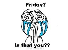 Friday? Is that you? funny cry meme text weekend friday lol funny quote funny quotes tgif humor humor quotes funny pictures comic