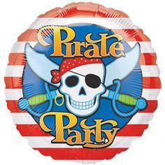 Palloncino Festa dei Pirati