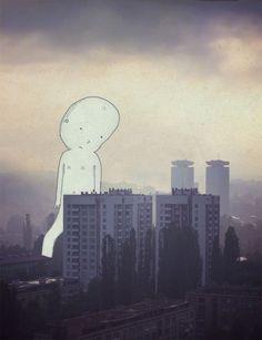 Sonho e realidade na mesma imagem