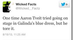 Aaron Tveit. Why is there no photo of this? I'd love to see that!
