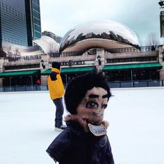 Check out my form... #milleniumpark #iceskating #chicago #lilAL @djasiatic