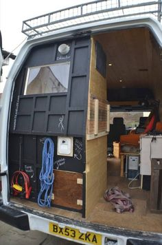 This Guy Turned A Van Into An Apartment...