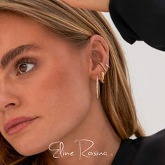 We are a female founded Dutch jewelry brand that is all about that luxury feeling. Discover our story at elinerosina.com  Luxury jewelry without crazy price tags. We care about quality and only work with high quality precious metals.   Oorbellen | Kettingen | Ringen | Sieraden | Gold plated sterling silver | 14k Rock solid Crazy Price, Bruchetta, Price Tags, Insta Ideas, Luxury Jewelry, Jewelry Branding, Precious Metals, Hair And Nails, Dutch