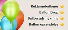 Her finder du alt hvad hjertet begærer i festartikler for voksne og børn. Lige fra børnefødselsdagen til brylluppet vil du i denne webshop finde sjove, smukke og helt igennem eventyrlige festartiklerder gør temaet til din fest ekstra spændende. Tjek: http://www.ctiparty.dk/shop/balloner-22s.html