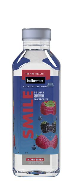Try our new Mixed Berry flavor! #hellowater #berrywater #flavoredwater #fiberwater