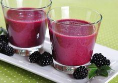 Blackberry Lettuce Smoothie