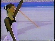 Nancy Kerrigan, American ice skater, Silver Medalist 1994 Lillehammer Winter Olympics.