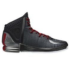low priced 2d77f edc5c  adidas  DRose4 Basketball Shoe - Black Light Scarlet  139.95   Tuesdayshoesday Ropa Deportiva