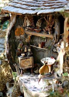 fairy house detail by Chrisy Cellough