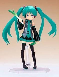 Anime Hatsune Miku, Vocaloid Cosplay, Dandere Anime, Chibi, Anime Figurines, Anime Dolls, Fanart, Lucky Star, Cute Dolls