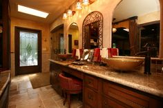 master bath tuscan | Tuscan Master Bath traditional bathroom Tuscan Bathroom, Master Bathroom, Mediterranean Decor, Tuscan Style, Traditional Bathroom, Houzz, Old World, Bathroom Ideas, Period