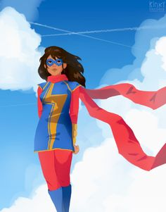 ms marvel by kinkypoptarte on @DeviantArt