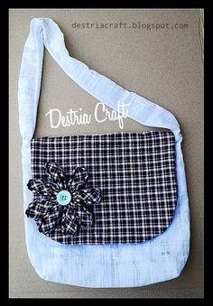 Destria Craft: Membuat Tas Cantik Dari Kain Perca