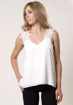 Chelsea silk camisole by CAMI NYC